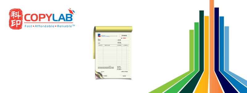 invoice receipt book printing services in singapore invoice