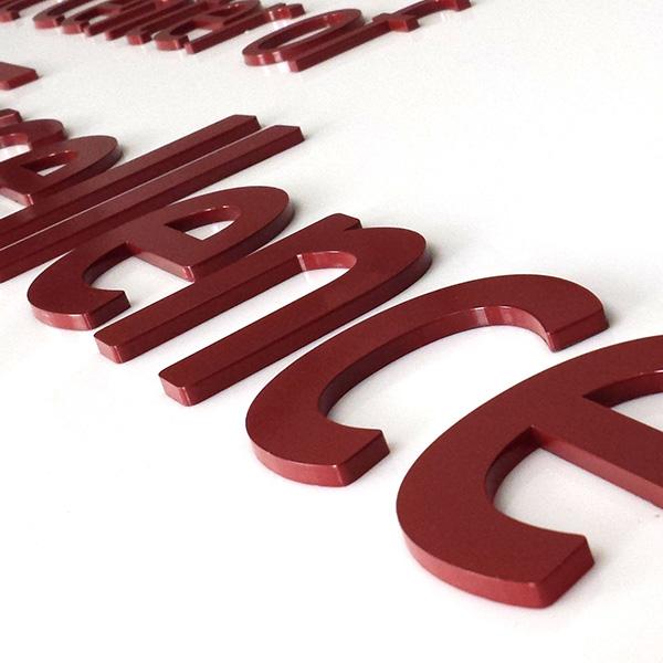 3D Acrylic Signage