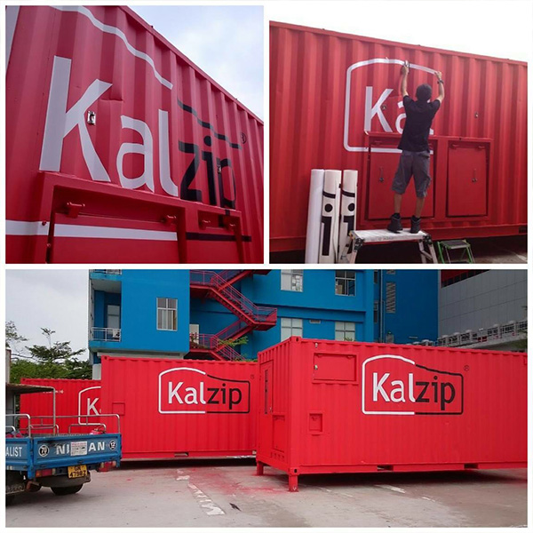 Containers Wrapping