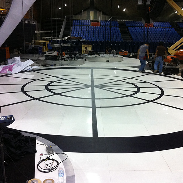 Stage Floor graphic